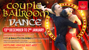 Couple Ballroom Dance