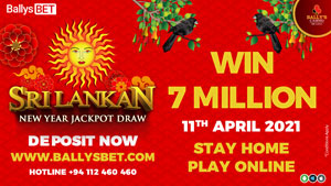 Sri Lankan New Year Jackpot Draw